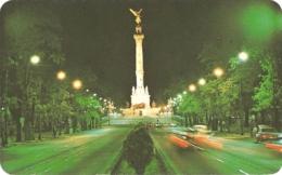 """MEX - Mexico - La Columna De La Independencia, """"El Angel"""" - Independance Monument... [by Night] - Mexiko"""