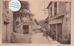 46 - Très Belle Carte Postale Ancienne De  FONS  Rue Saint André - Otros Municipios