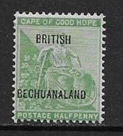 Bechuanaland Col. Brit.  YT 36 Neuf* - Bechuanaland (...-1966)