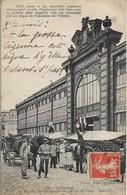 CPA. AUXERRE. MARCHE. PORTE DE CÔTE DE L'HÔTEL DE VILLE. - Auxerre