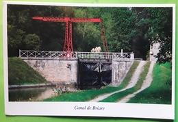 Canal De BRIARE , Loiret, Pont Levis De Moulin Neuf , Ecluse, 2019, TB - Briare