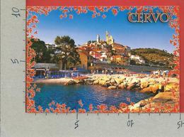 CARTOLINA VG ITALIA - CERVO (IM) - Panorama - Riviera Ligure - 10 X 15 - 2011 ROMA CAPITALE ISOLATO - Imperia