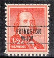 USA Precancel Vorausentwertung Preo, Locals Minnesota, Princeton 263 - Vereinigte Staaten