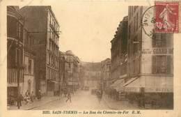 93* ST DENIS  Rue Du Chemin De Fer             MA98,0450 - Saint Denis