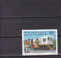 Djibouti 1991 Sc # 685 Mi 555 MNH** - Eisenbahnen