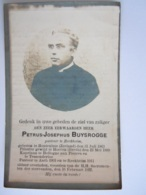 Doodsprentje Priester Petrus-Josephus Buysrogge °Hontenisse (Zeeland) 1863 Pastoor Asch En + Reckheim 1922 - Santini