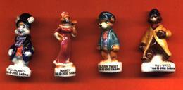 Lot De 4/10 Feves De La Série Oliver Twist 2002 - Dibujos Animados