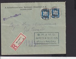 A20  /  Deutsches Reich  358 MeF  / Düsseldorf - Germania