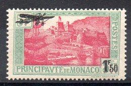 MONACO - YT PA N° 1 - Neuf * - MH - Cote: 30,00 € - Airmail