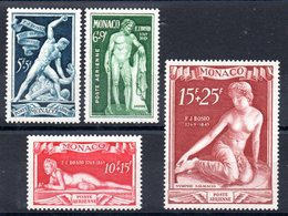 MONACO - YT PA N° 28 à 31 - Neufs ** - MNH - Cote: 115,00 € - Poste Aérienne