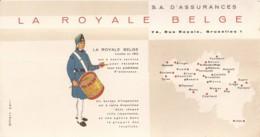 La Royale Belge (Assurances) Buvard - Autres