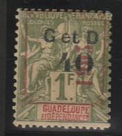 GUADELOUPE - N° 52*f - Guadeloupe (1884-1947)