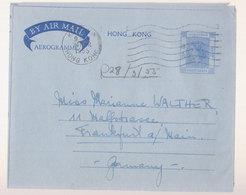 Aérogramme Hong Kong  1955 - Asia (Other)