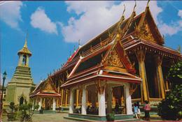 Thailand Bangkok Temple Wat Phra Keo (fold) - Thaïlande