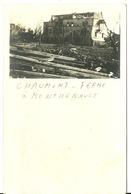 02 - MONTHENAULT / CARTE PHOTO ALLEMANDE FERME CHAUMONT - Other Municipalities