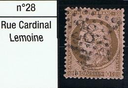 N°54 Etoile 28 - Marcophilie (Timbres Détachés)
