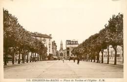 95* ENGHIEN Les Bains   Place De Verdun           MA98,0926 - Enghien Les Bains