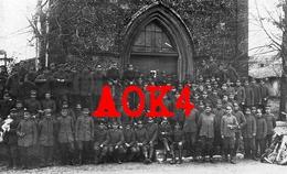 08 Ardennes BLAISE Vouziers Eglise Bourcq Occupation Allemande Musique IR 18 1917 - Vouziers