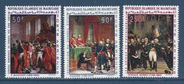 République Islamique De Mauritanie - Poste Aérienne - YT PA N° 85 à 87 - Neuf Sans Charnière - 1969 - Mauretanien (1960-...)