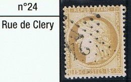 N°55 Etoile 24 - Marcophilie (Timbres Détachés)
