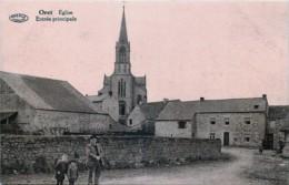 Belgique -  Mettet - Oret - Eglise Et Entrée Principale - Mettet