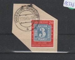 BRD   Gestempelt  Auf Papier   MiNr. 114 - [7] República Federal