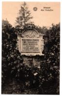 CPA Belgique - DINANT - Mur Tschoffen (commémoration Des Martyrs) - Dinant
