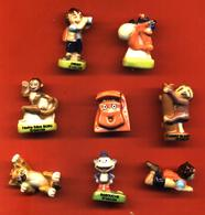 Lot De 8/12 Feves De La Série D Et Diégo 2008 - Cartoons