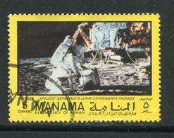 MANAMA- Timbre Oblitéré (Apollo 12) - Espacio