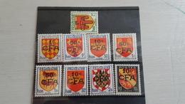 LA REUNION France 9 Timbres En Francs CFA NEUFS - Reunion Island (1852-1975)