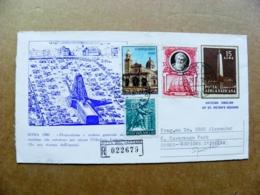 Cover Vatican 1972 Registered Obelisk Roma 1586 - Vaticano (Ciudad Del)