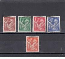 France - 1939-41 - N° YT 431/35** - Type Iris - 1939-44 Iris