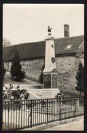 VESLUD: Gros Plan Sur Monument Aux Morts, Courette Jules, Houde Henri.....etc.... RARE Carte Photo. - Autres Communes