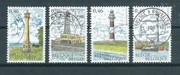 2006 Belgium Complete Set Vuurtoren,leuchtturme Used/gebruikt/oblitere - Belgium