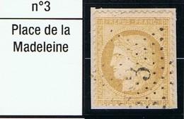 N°59 Etoile 3 - Marcophilie (Timbres Détachés)