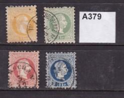 Austria 1867 4 Values To 10Kr - 1850-1918 Empire