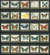 MANAMA- Divers Timbres Oblitérés (papillons) - Schmetterlinge