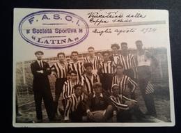 Fascismo - 1924 - F.A.S.C.I. Società Sportiva Latina Vincitrice Coppa Scudo - Sport
