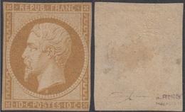 France Francia  9 1852 Napoleón MH - Sellos