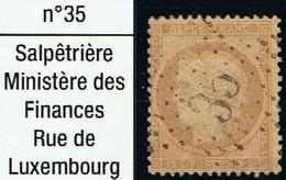 N°59 Etoile 35 - Marcophilie (Timbres Détachés)