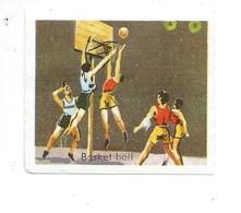 SPORT Chromo Basketball BASKET BALL TB Sans Pub 50 X 40 Mm 2 Scans - Chromo