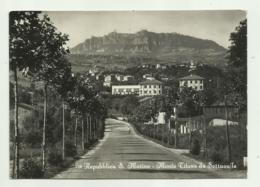 REPUBBLICA S.MARINO - MONTE TITANO DA SERRAVALLE   VIAGGIATA  FG - San Marino