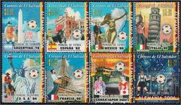 El Salvador 1643/50 2006 Copa Del Mundo De Fútbol 2006 En Alemania - *** - Francobolli