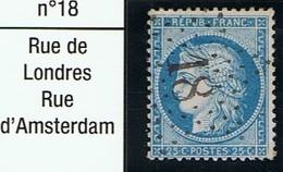 N°60 Etoile 18 - Marcophilie (Timbres Détachés)