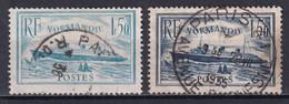1935 - YVERT N° 299/300 OBLITERES SUP - COTE = 22 EUR. - - France