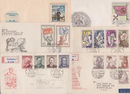 TCHECOSLOVAQUIE CESKOSLOVENSKO CZECHOSLOVAKIA - Beau Lot Varié De 352 Enveloppes Premier Jour FDC First Day Covers Issue - FDC