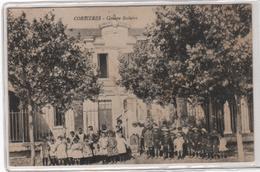 CPA 11 : CORBIERES - Groupe Scolaire - 1917 - Otros Municipios