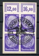 Deutsches Reich 4er Block MiNr. 472 W Briefstück (XXX - Germany