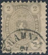 Finlandia 1875  Yvert Tellier  13a Escudo : 2 Penniä US - Non Classificati