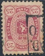 Finlandia 1875  Yvert Tellier  17a Escudo 25 Penniä US - Non Classificati